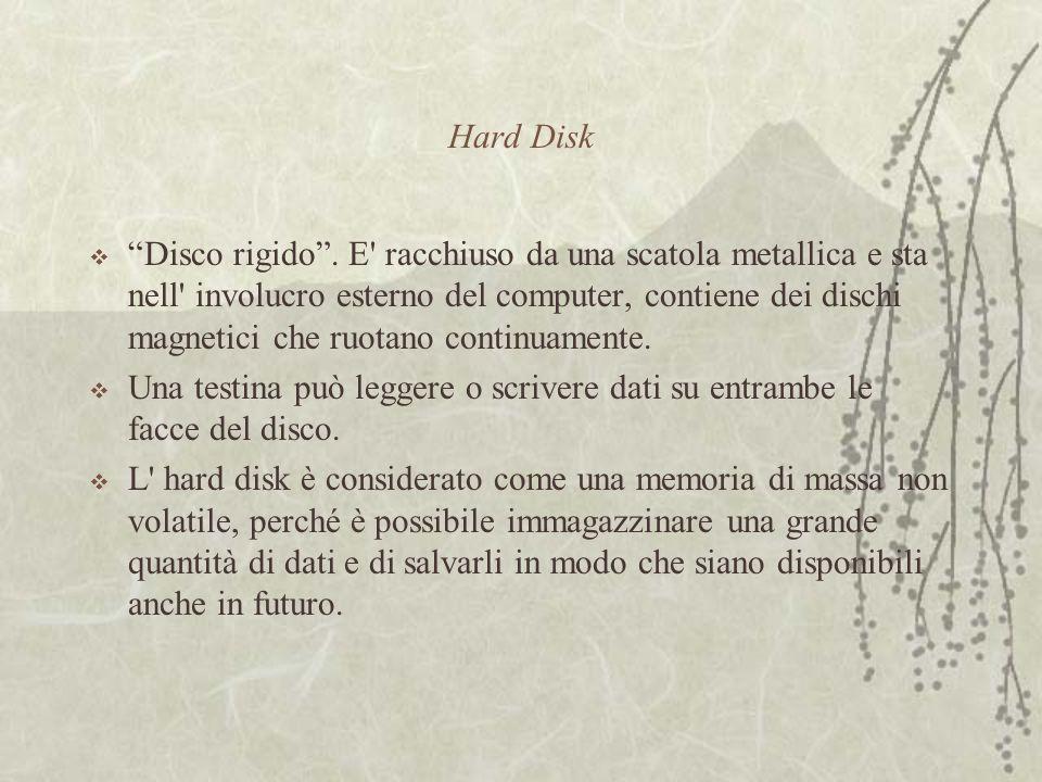 Hard Disk  Disco rigido .