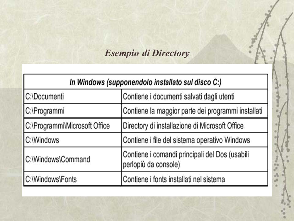 Esempio di Directory