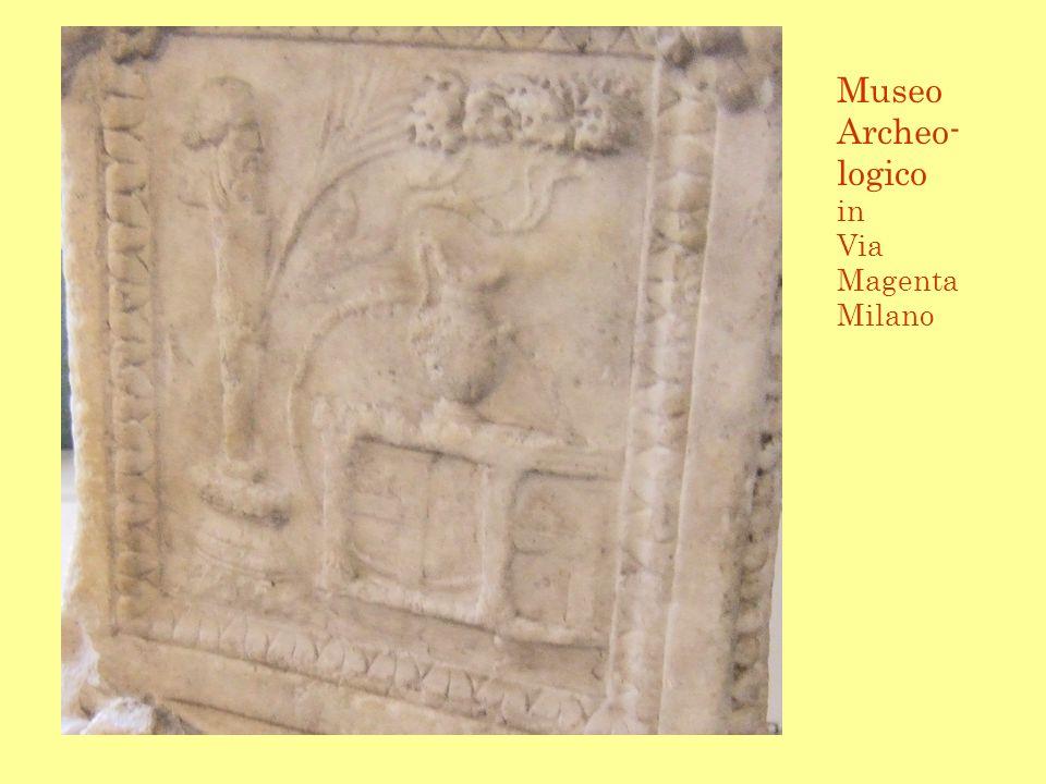 Museo Archeo- logico in Via Magenta Milano