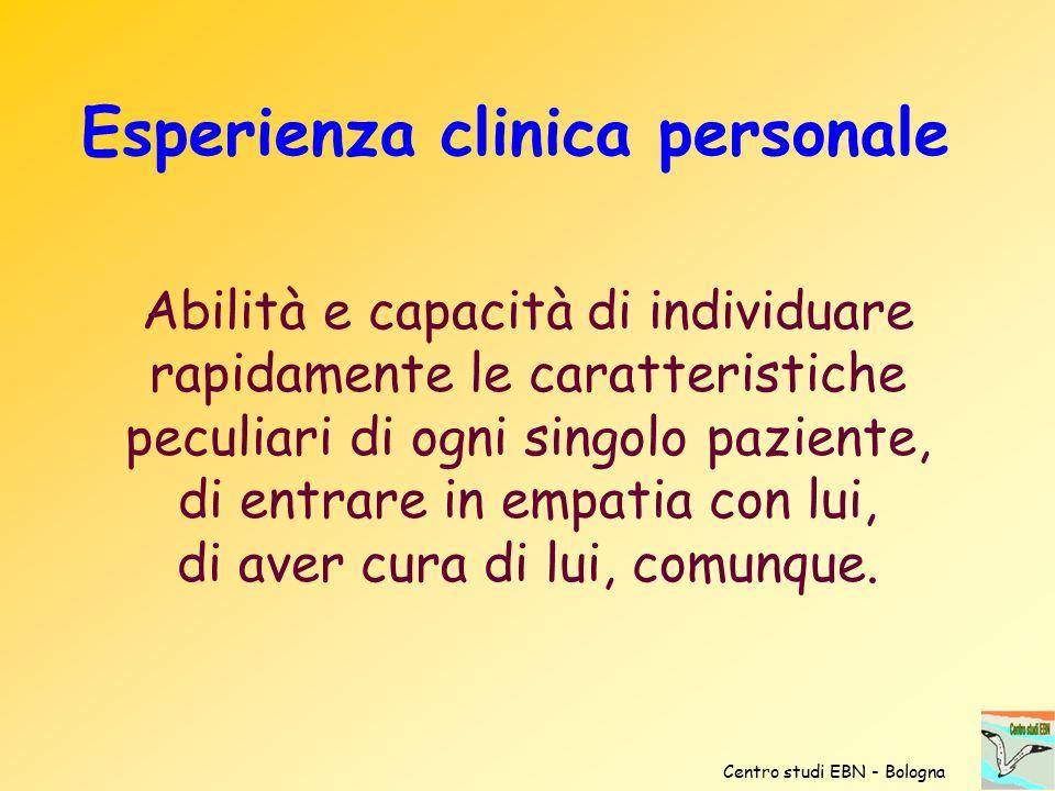 Abilità e capacità di individuare rapidamente le caratteristiche peculiari di ogni singolo paziente, di entrare in empatia con lui, di aver cura di lu