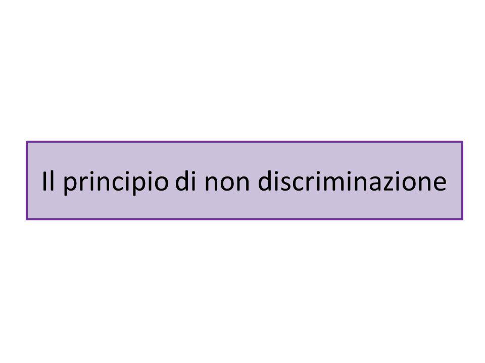 La tutela contro le altre discriminazioni È ammesso il ricorso a dati statistici, ma non è prevista l'inversione parziale dell'onus probandi