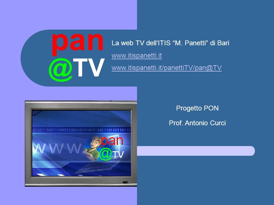 @TV pan La web TV dell'ITIS M.