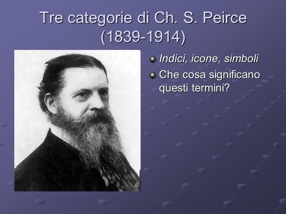 Tre categorie di Ch.S.