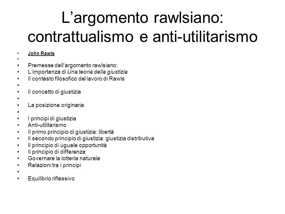 Importanza di TJ TJ come punto di svolta della filosofia (morale e) politica; Domanda di Rawls: in base a quali criteri (normativi) i cittadini potranno misurare l'accettabilità/adeguatezza delle istituzioni.