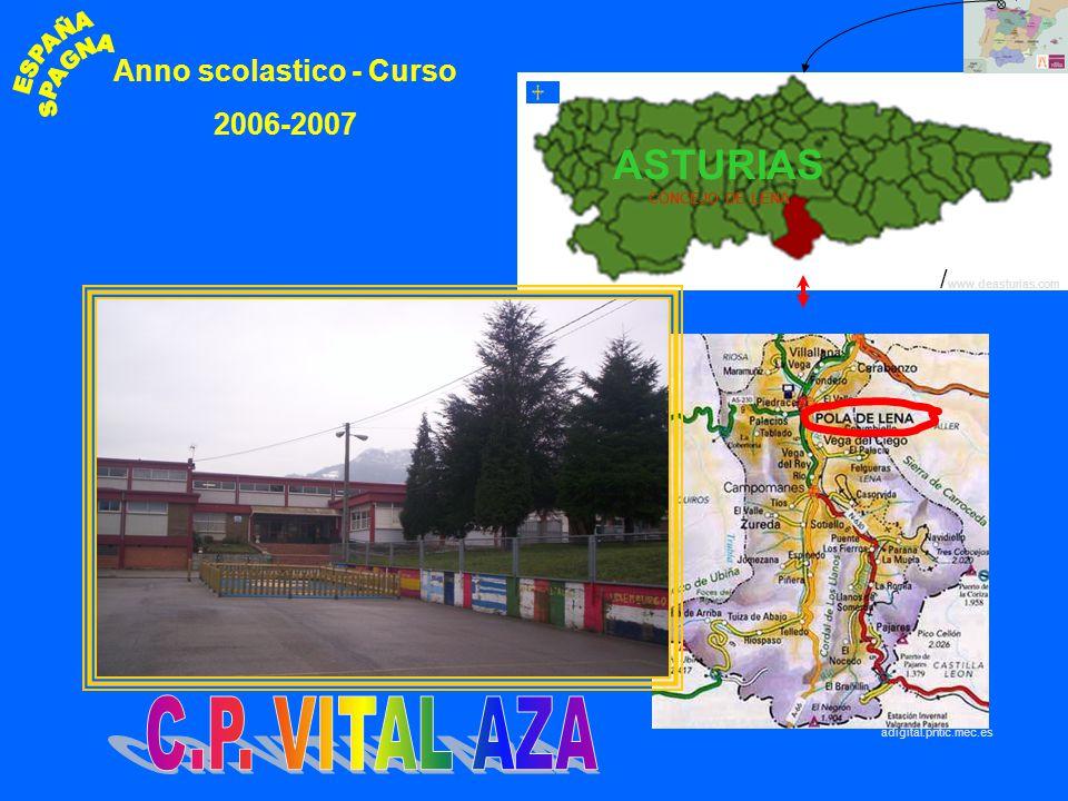 POLA DE LENA Anno scolastico - Curso 2006-2007 adigital.pntic.mec.es / www.deasturias.com ASTURIAS CONCEJO DE LENA