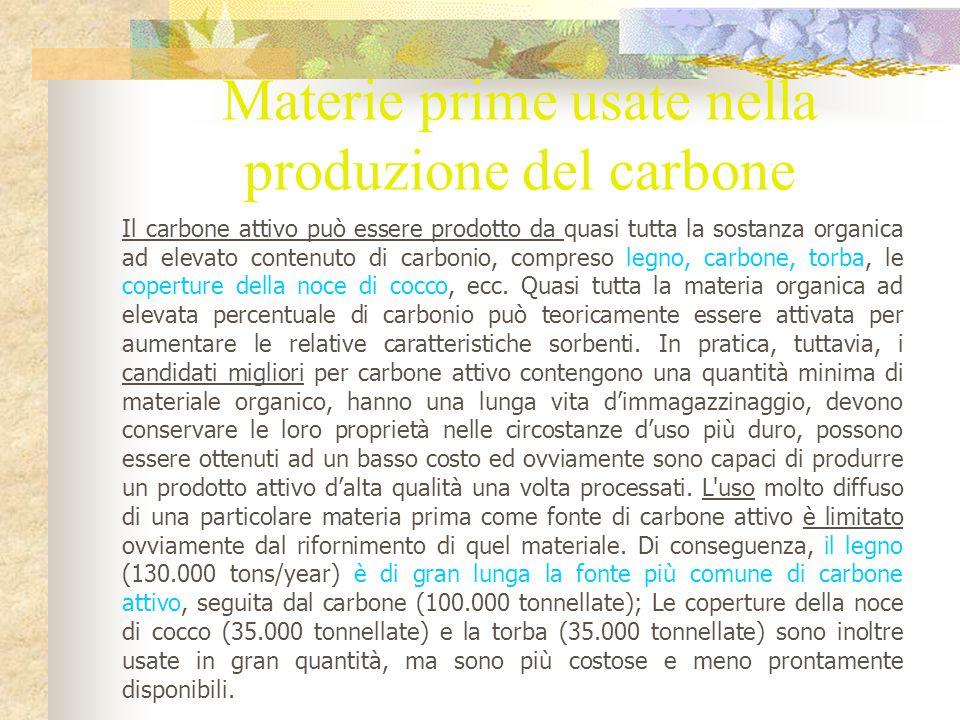 In pratica, il carbone attivo si trova in due forme: carbonio attivato granulare (GAC) carbonio attivato in polvere (PAC) IL GAC, per definizione, si compone di particelle con formati per lo più di 0,8 millimetri (circa il formato della sabbia).