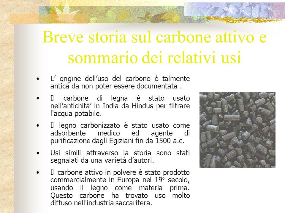 Il carbone attivo è capace del riciclaggio.