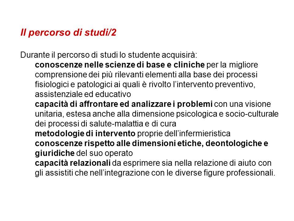 Organigramma: –Presidente Corso di Laurea Foligno Prof.