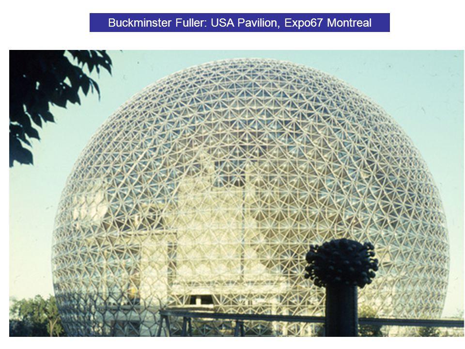 Buckminster Fuller: USA Pavilion, Expo67 Montreal