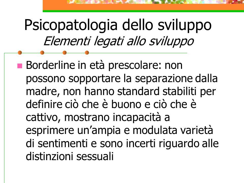 Condizioni in Asse I associate o in diagnosi differenziale DDAI Disturbo della condotta iposocializzato e aggressivo- ipo.