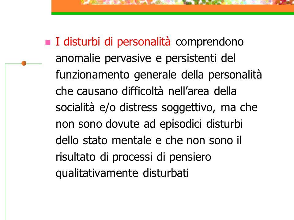 Definizioni Personalità: la p.