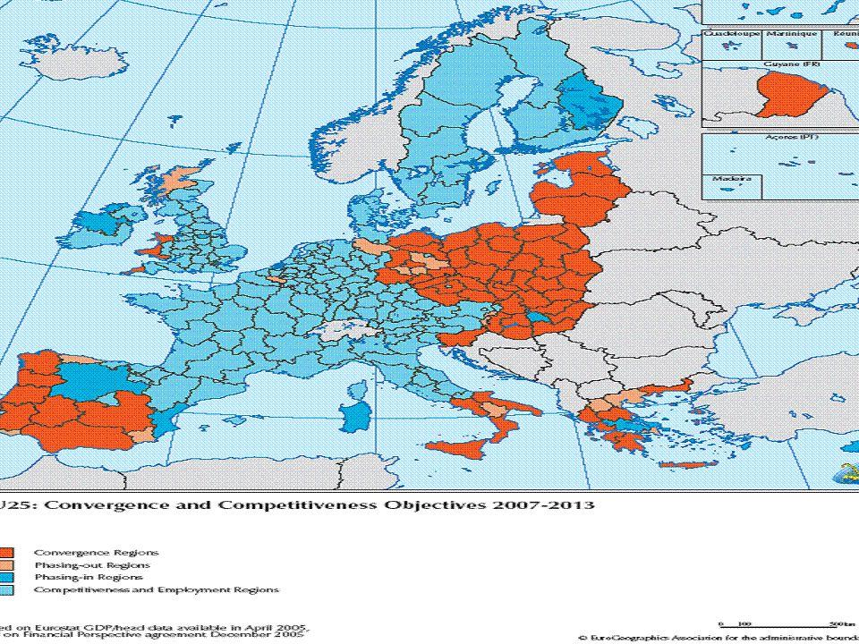 LA NUOVA POLITICA DI COESIONE LA NUOVA POLITICA DI COESIONE periodo di programmazione 2007 - 2013 Istruttoria tecnica per il riparto delle risorse fra