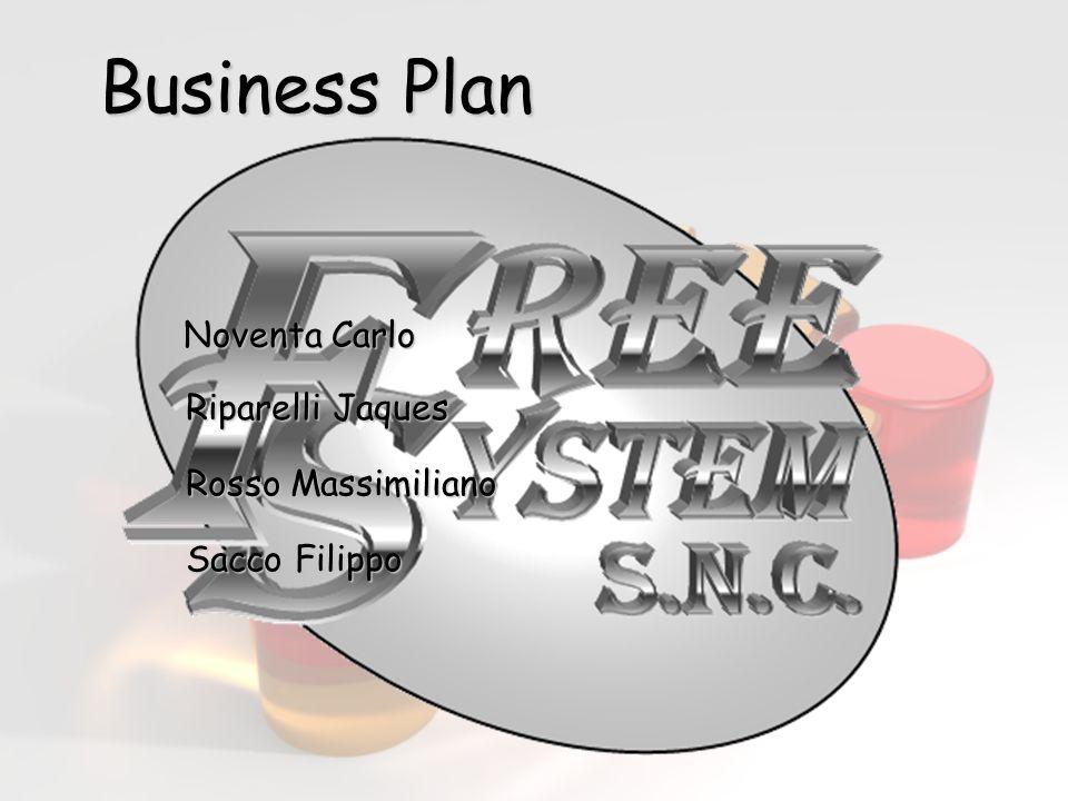 Business Plan Noventa Carlo Riparelli Jaques Rosso Massimiliano Sacco Filippo