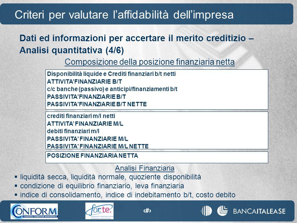 37 Disponibilità liquide e Crediti finanziari b/t netti ATTIVITA'FINANZIARIE B/T c/c banche (passivo) e anticipi/finanziamenti b/t PASSIVITA'FINANZIAR