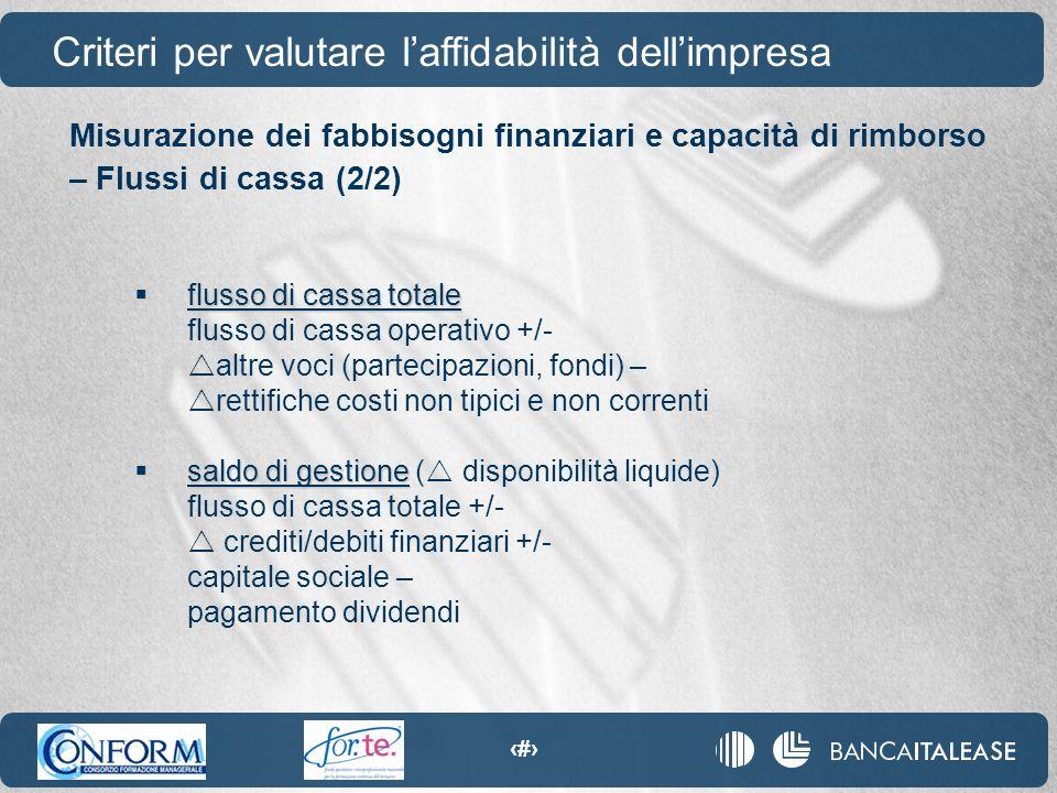 52  flusso di cassa totale flusso di cassa operativo +/-  altre voci (partecipazioni, fondi) –  rettifiche costi non tipici e non correnti  saldo