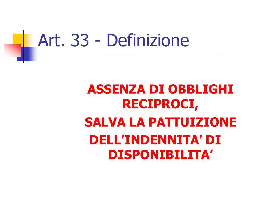 Definizione – Art. 33 1.