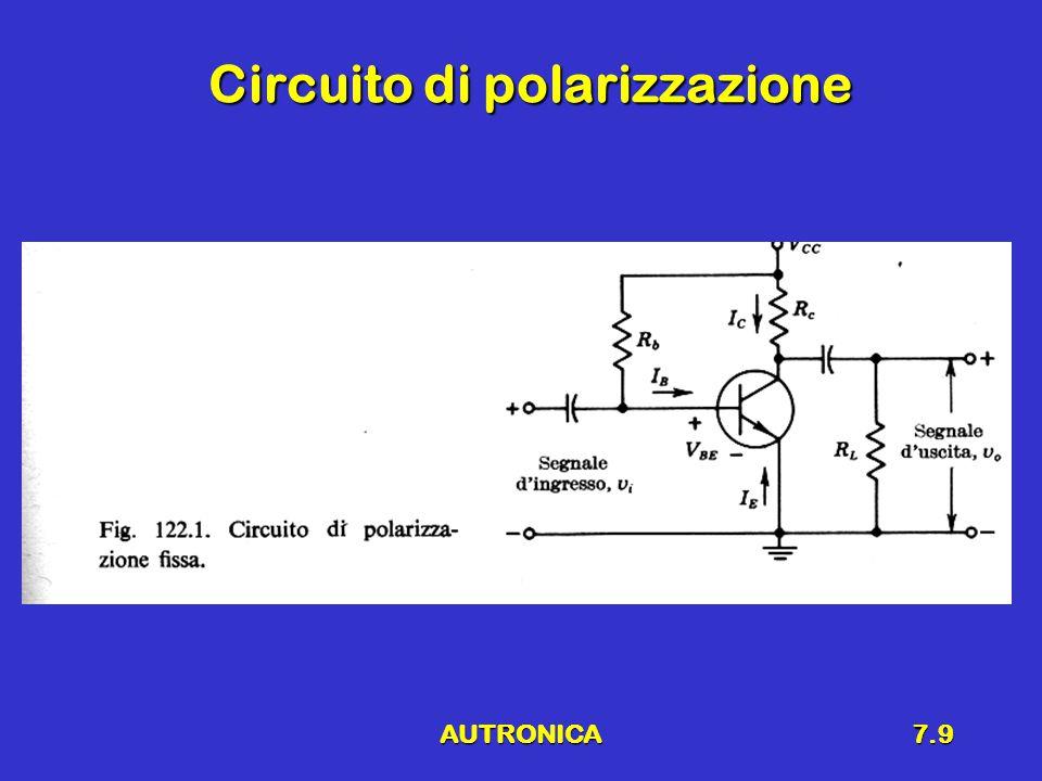AUTRONICA7.9 Circuito di polarizzazione