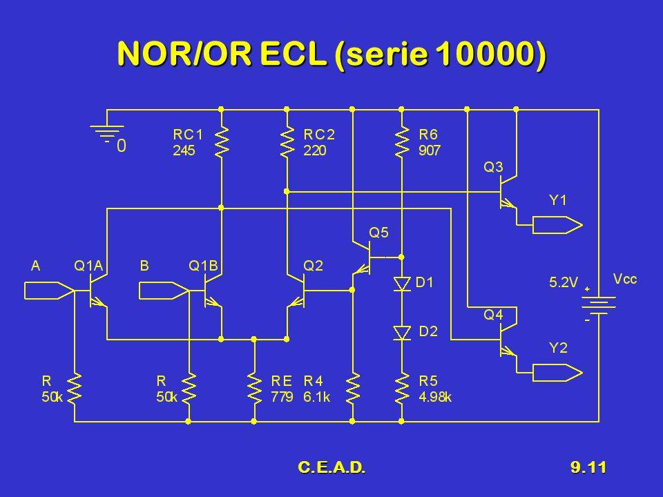 C.E.A.D.9.11 NOR/OR ECL (serie 10000)
