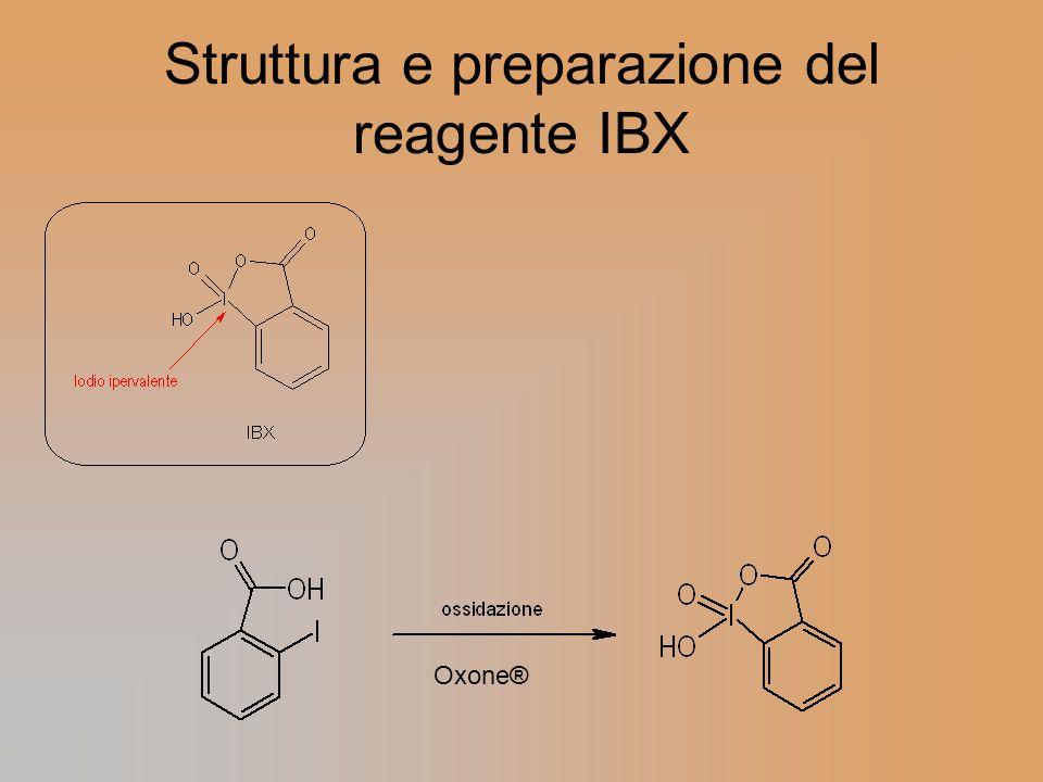 Struttura e preparazione del reagente IBX Oxone®