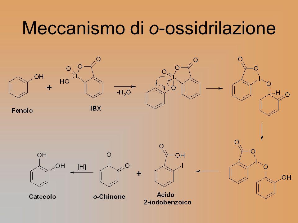 Meccanismo di o-ossidrilazione