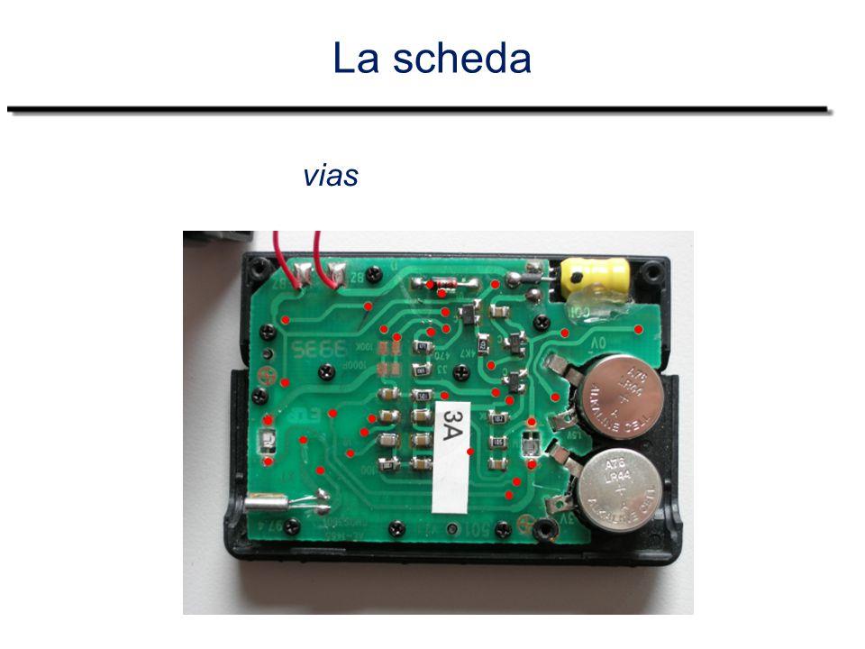 La scheda gnd 3 volt 1,5 volt