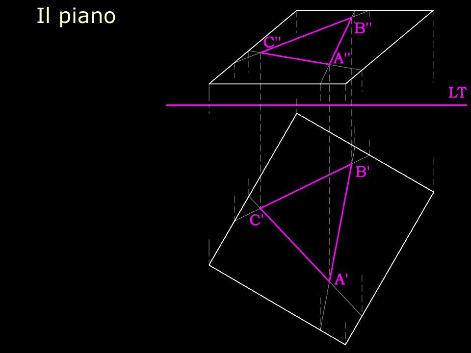 L'affinità omologica di rappresentazione delle figure di un piano Prima e senconda immagine si corrispondono in un'affinità omologica che ha asse nella immagine della retta d'intesezsione del piano della figura rappresentata con il secondo piano bisettore del diedro formato dai due quadri