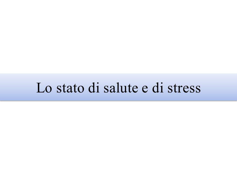 Lo stato di salute e di stress