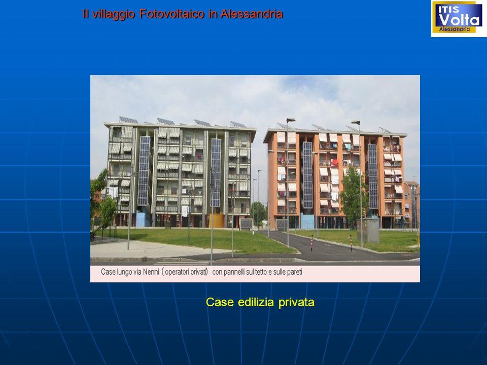 Il villaggio Fotovoltaico in Alessandria Case edilizia privata