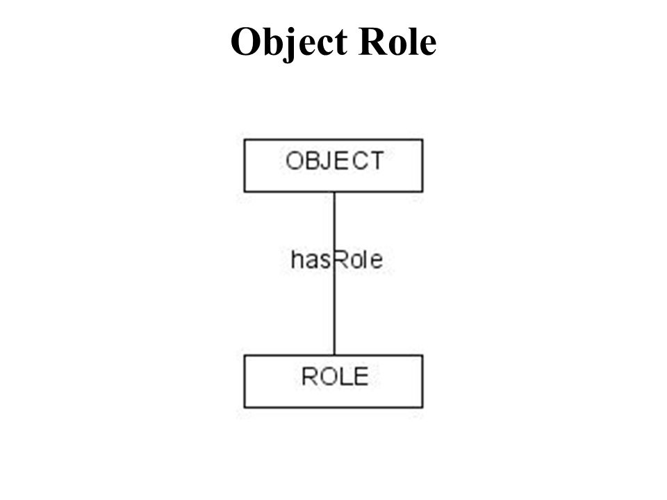 Object Role