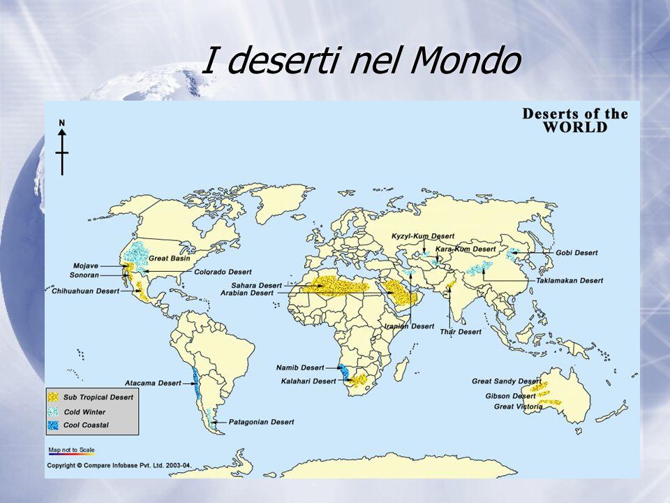 I deserti nel Mondo