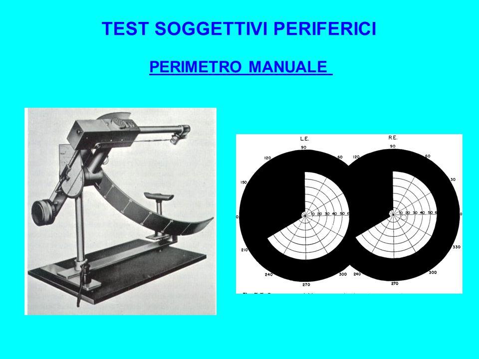 PERIMETRO MANUALE TEST SOGGETTIVI PERIFERICI