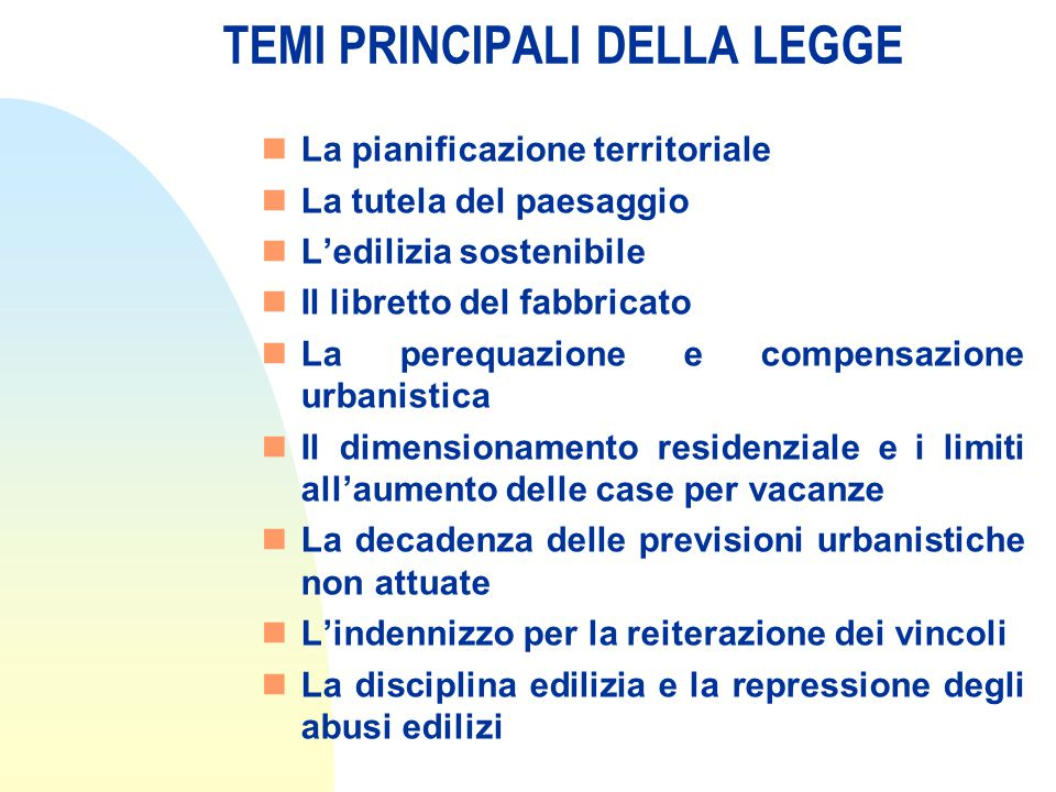 Piano regolatore generale (art.