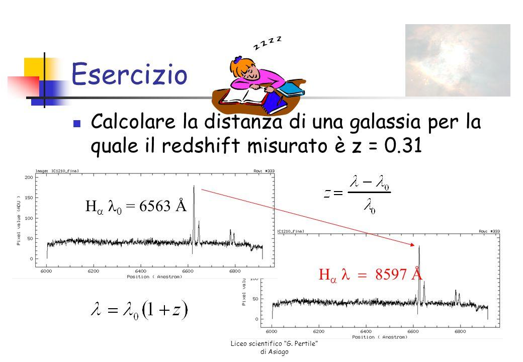 """Liceo scientifico """"G. Pertile"""" di Asiago Classificazione spettrale Stelle rosse Lunghezza d'onda più lunga -> T più bassa Stelle blu Lunghezza d'onda"""