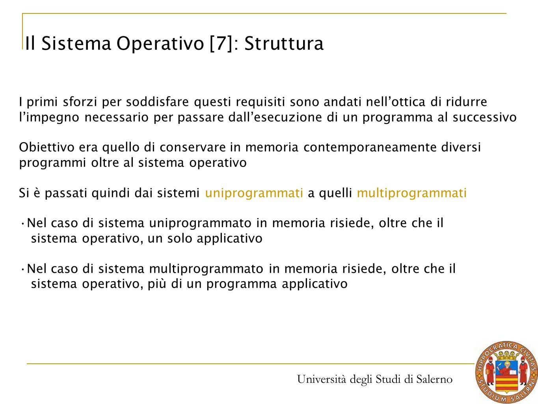 Università degli Studi di Salerno I primi sforzi per soddisfare questi requisiti sono andati nell'ottica di ridurre l'impegno necessario per passare d