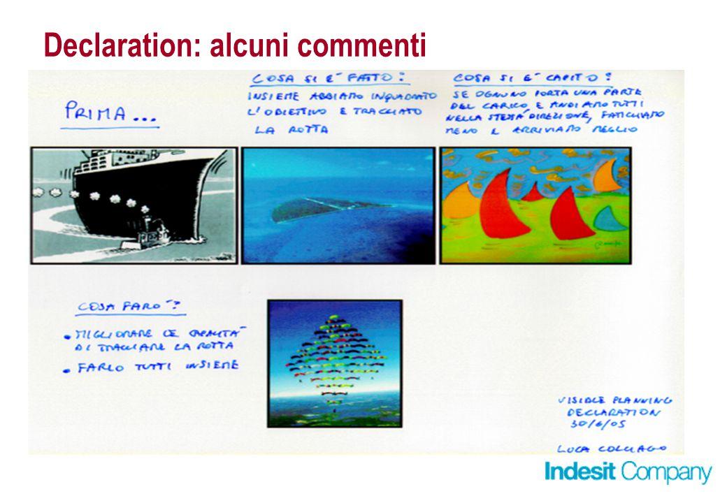 Declaration: alcuni commenti