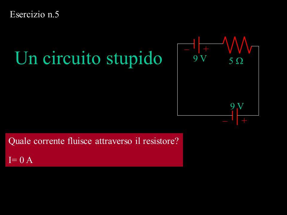 +–+–  9 V 5   1.5 V 3  I1 I1 I3 I3 I2 I2 In un nodo la somma delle correnti è zero In A: I 1 + I 3 = I 2 1.5 – 3I 2 = 0 9 – 5I 1 – 3I 2 = 0 I 2 =