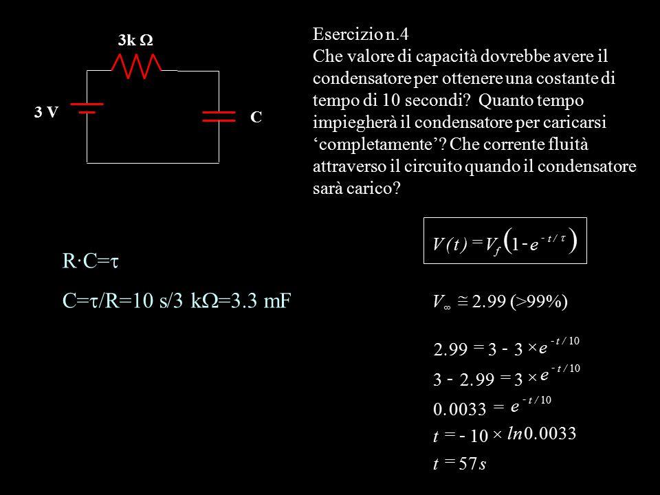 + – R1R1 R2R2 R3R3 R4R4 I2I2 I4I4 E1E1 + – E2E2 I1I1 Applichiamo le leggi di Kirchhoff E 1 -R 1 I 1 -R 4 I 4 =0 E 2 +R 3 I 2 +R 2 I 2 -R 4 I 4 =0 I 1