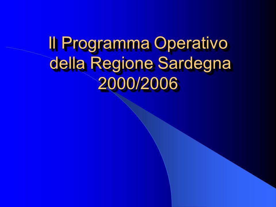 Il Programma Operativo della Regione Sardegna 2000/2006