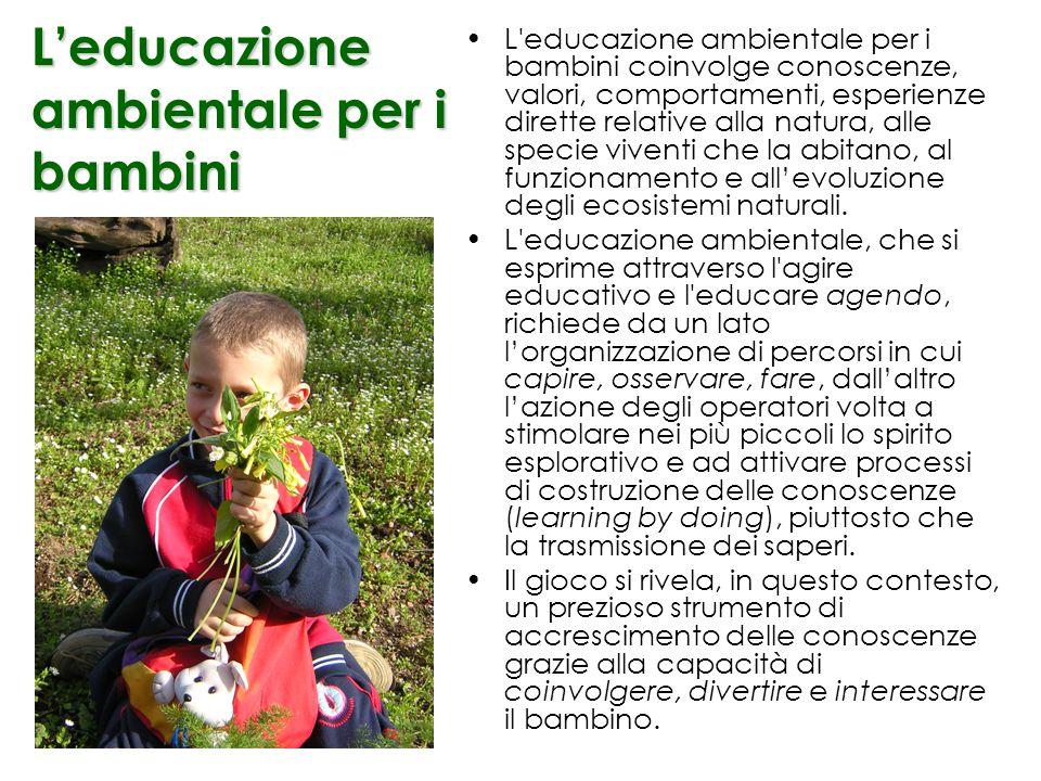 Laboratorio di Osservazione Scientifica OSCOM Federico II Napoli Giochiamo al piccolo Naturalista!