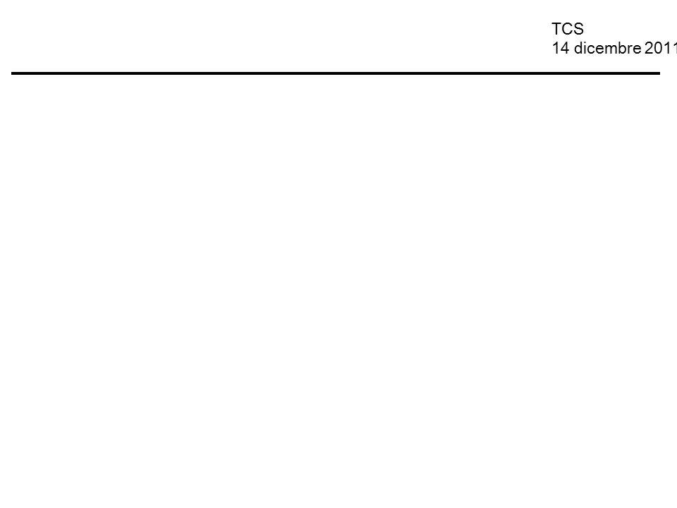 TCS 14 dicembre 2011
