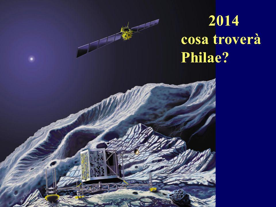 2014 cosa troverà Philae?