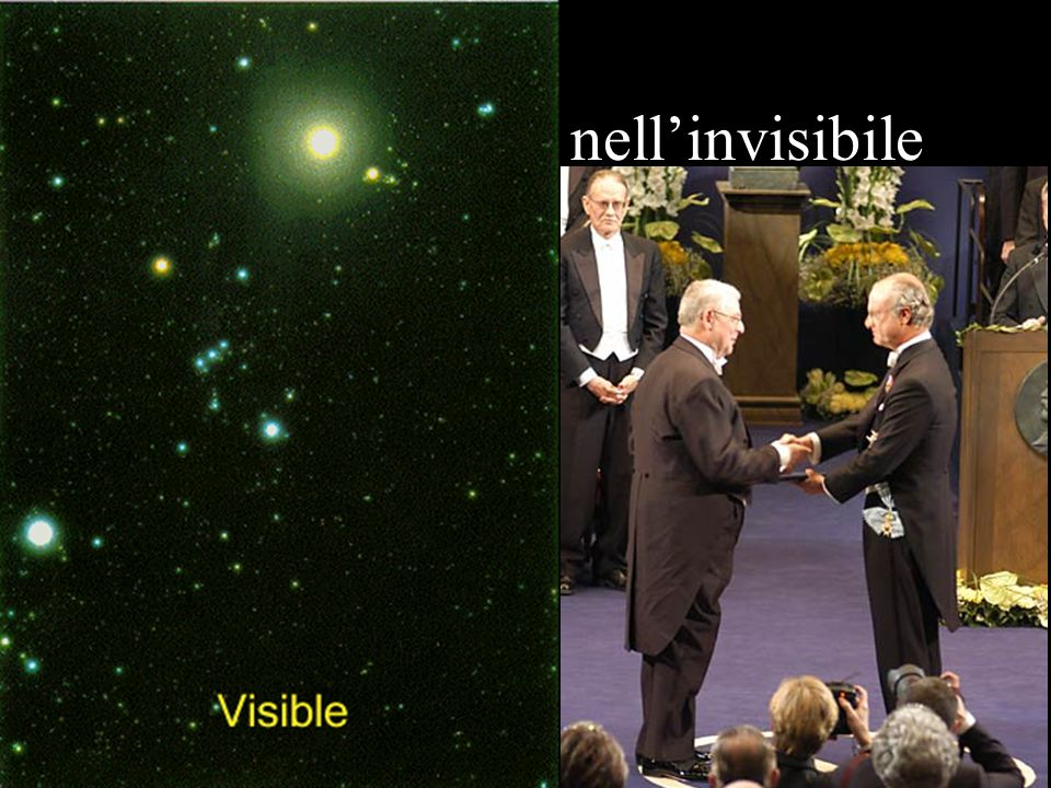 Ora spingiamoci nell'invisibile
