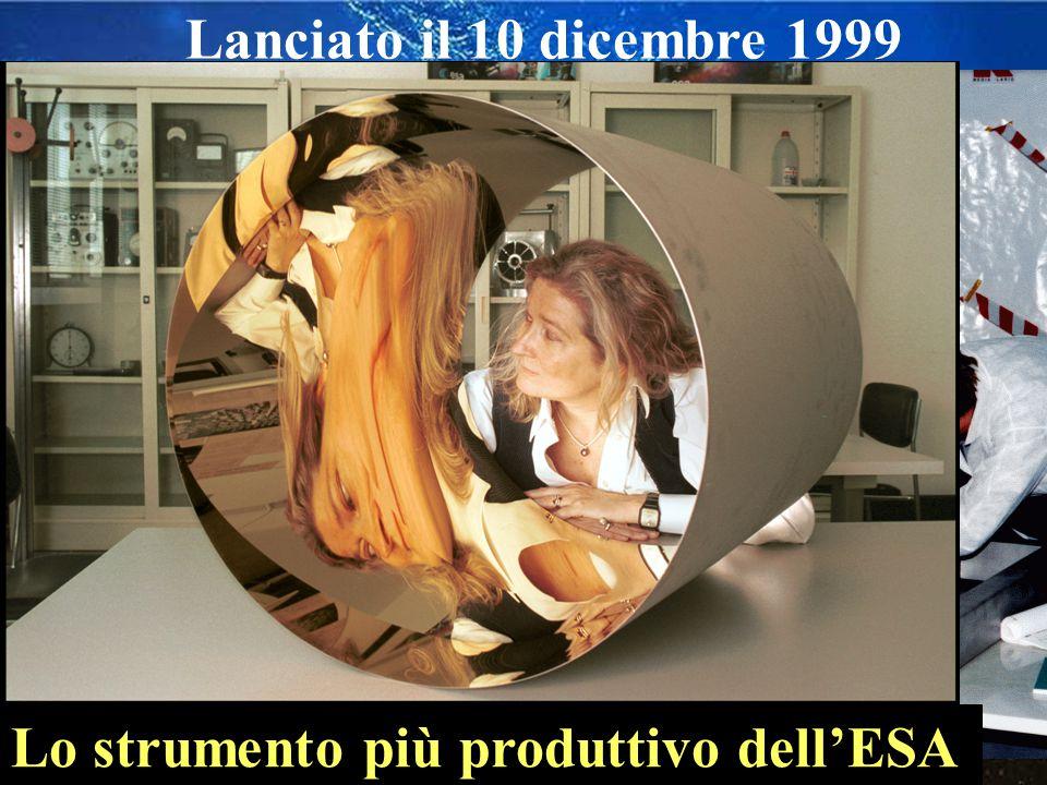 Lo strumento più produttivo dell'ESA Lanciato il 10 dicembre 1999