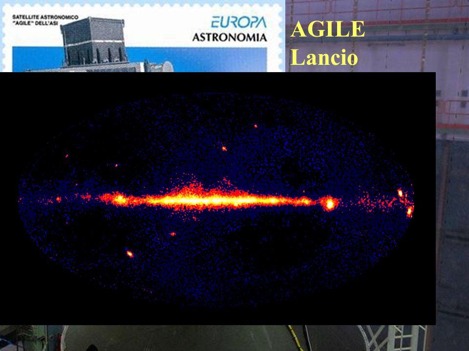 AGILE Lancio 23Aprile 2007 13.455 orbite gestite da Malindi