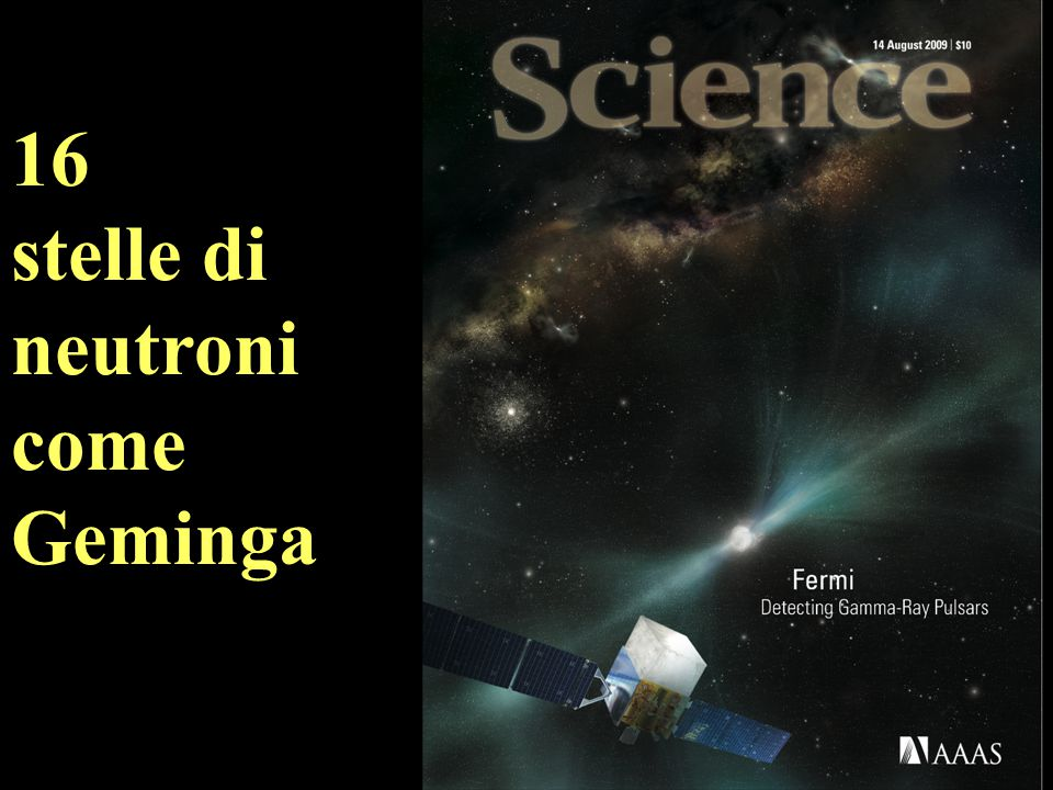 16 stelle di neutroni come Geminga