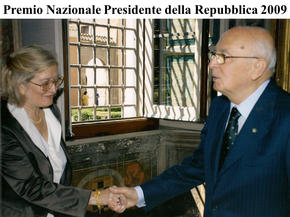 Premio Nazionale Presidente della Repubblica 2009