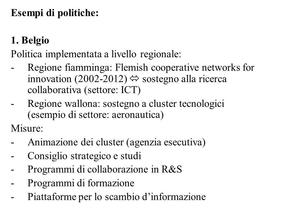 Esempi di politiche: 1.