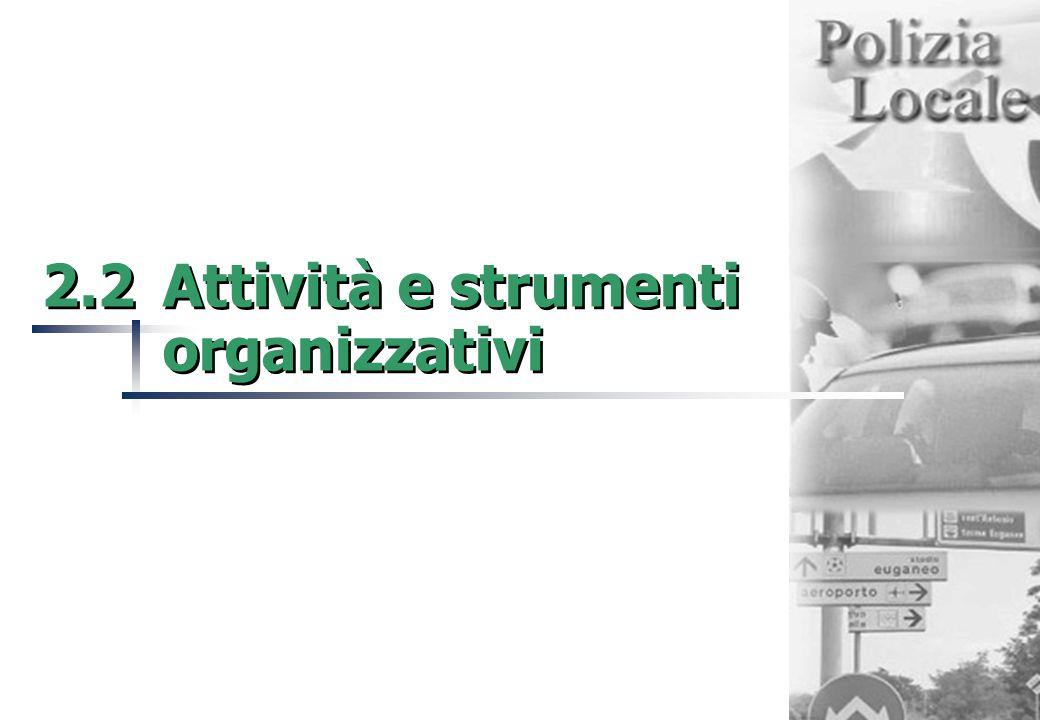2.2Attività e strumenti organizzativi