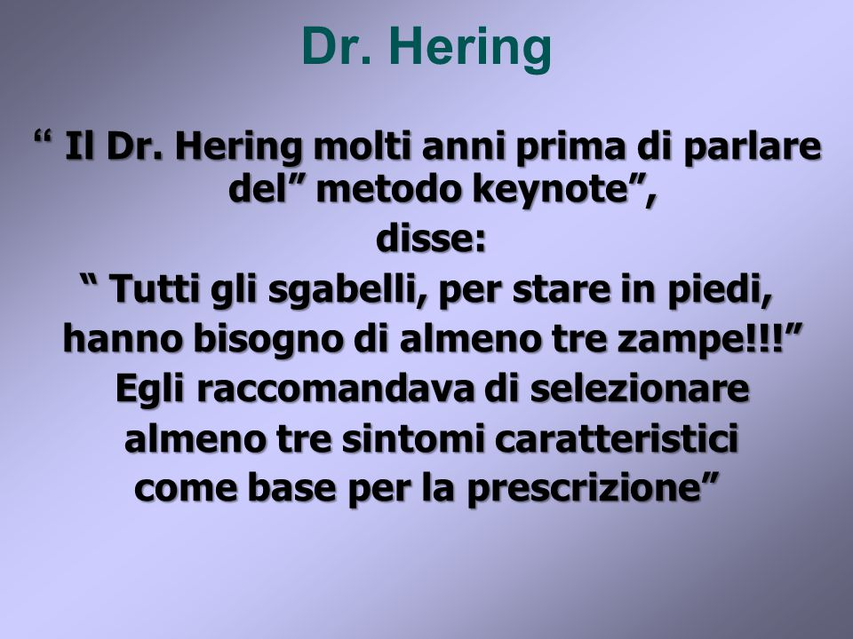 Dr. Hering Il Dr.