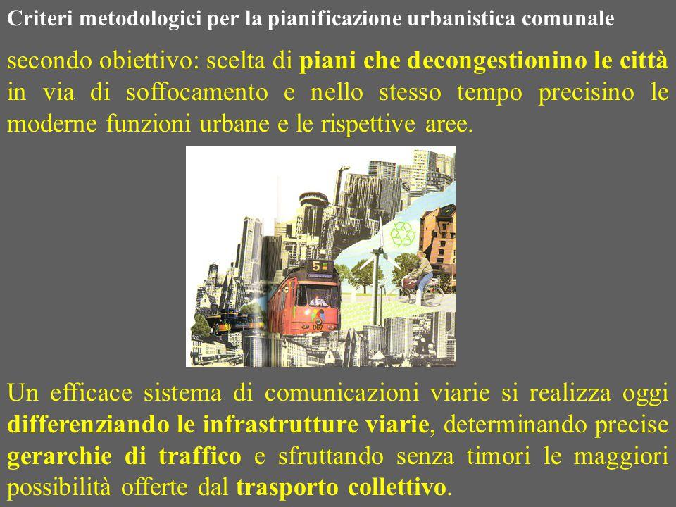Un efficace sistema di comunicazioni viarie si realizza oggi differenziando le infrastrutture viarie, determinando precise gerarchie di traffico e sfr